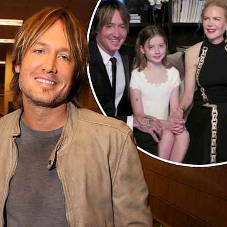 Keith Urban says his daughters were more excited he got a text from Taylor Swift than he was