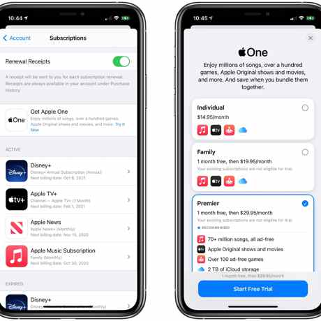 Apple One is Now Available: Save Money by Bundling Apple Music, iCloud Storage, Apple TV+, Apple Arcade,..
