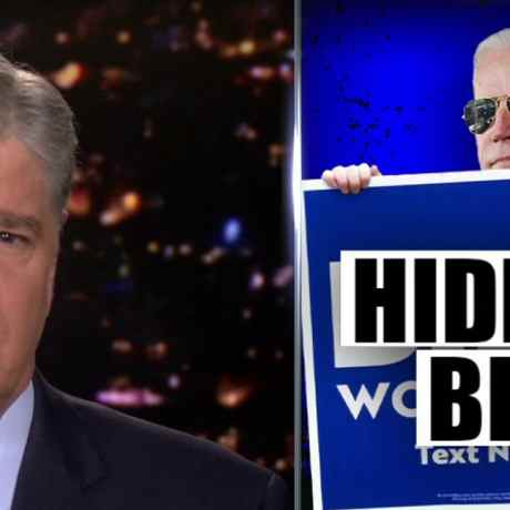 Hannity sends cameras to Biden home, urges Dem nominee to 'come outside' and address Hunter scandal